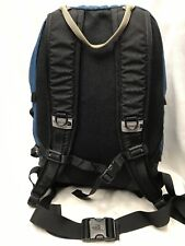 The North Face Hot Shot Backpack Hiking School Travel Bag Blue And Black