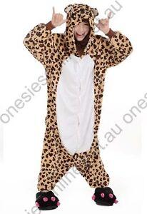 Leopard Bear Onsie Kigurumi playsuit pajama