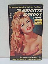 THE BRIGITTE BARDOT STORY (Belmont 1961) Vintage RARE 1st Print Paperback