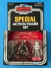 STAR WARS VINTAGE COLLECTION SPECIAL ACTION FIGURE IMPERIAL SET TARGET EXCLUSIVE