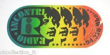 ADESIVO RADIO anni '70 / Sticker / RADIO INCONTRI TORINO (cm 19 x 9) 94.250 MHZ