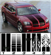 2005 - 2008 Dodge Magnum Custom Hood Stripes Chooce your Style and Color!