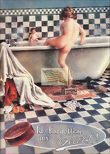 REPRINT PICTURE of old ad PEARS' SOAP i'd forgotten my pears! soap A 5x7