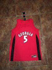 Nike Women's Georgia #5 Basketball Jersey Size Medium NEW 178219 661