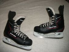 EASTON EQ10 ICE HOCKEY SKATES MENS SIZE 8 SKATE 9.5 SHOE NICE CONDITION