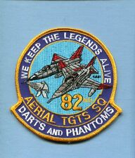 82nd ATS CONVAIR F-106 DART McDONNELL F-4 PHANTOM USAF Target Squadron Patch