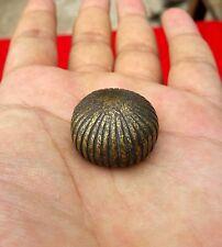 Ancien Début Main Unique melon Forme Cloche Métal / Bronze de Mesure de Poids