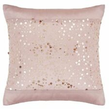 Catherine Lansfield Glitzy Rose Gold Cushion Cover 45cm