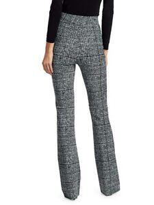 NWT Chiara Boni La Petite Robe Venusette Tweed Print Pants 10/46 Italy $395