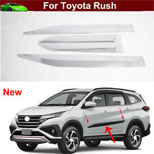 4pcs Car Body Side Door Overlay Moulding Cover Trim for Toyota Rush 2018-2021