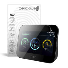Celicious Vivid HTC 5G Hub Invisible Screen Protector [Pack of 2]