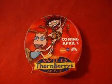 The WIld Thornberrys Movie Movie Release Promotional Button Pin Back Promo