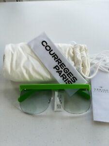 COURREGES Women/'s Sunglasses Blue NIB Authentic