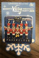 Disney Mickey's Very Merry Christmas Party 2018 Passholder Pin Toy Soldiers NEW