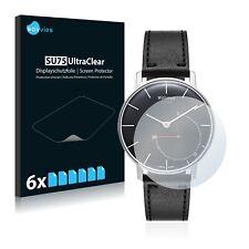 6x Displayschutzfolie für Withings Activité Sapphire Klar Schutzfolie