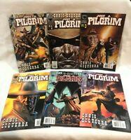 Lot of 6 comics  Just A Pilgrim #1-5 complete series GARTH ENNIS black bull