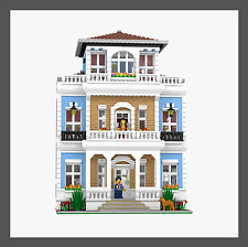 LEGO Custom Modular Mansion - INSTRUCTIONS ONLY!