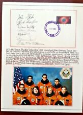 STS-58 SPACE SHUTTLE 'Columbia' FDC SIGNED BY 7 Crew Members - 1993