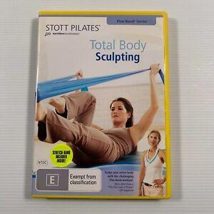Stott Pilates - Total Body Sculpting (Flex-Band Series) (DVD, 2007)