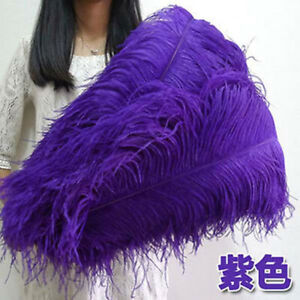 """Wholesale, 10-100pcs """"thick Stem"""" Male Ostrich Feathers 16-30 Inches / 40-75 Cm"""