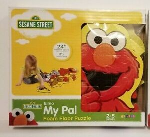 Sesame Street My Pal Elmo Foam Floor Puzzle 24 inch 25 piece