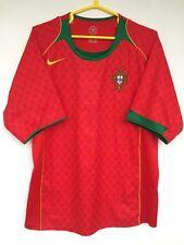 PORTUGAL NATIONAL TEAM 2004 2006 NIKE HOME FOOTBALL SOCCER SHIRT JERSEY CAMISETA