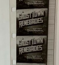 16mm Film ~ Ghost Town Renegades ~ Lash LaRue  ~ B Western Movie ~ 1947
