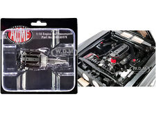 """ENGINE & TRANSMISSION 428 COBRA """"1967 MUSTANG SHELBY GT500"""" 1/18 ACME A1801837E"""