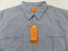"Hugo Boss Orange ""EdoslimE"" Slim Fit Men's Casual Shirt US 2XL"