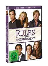 OLIVER/KAJLICH,BIANCA/KALYAN,ADHIR HUDSON - RULES OF ENGAGEMENT S6  2 DVD NEU