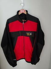 Mountain Hardwear Goretex Windstopper Fleece Softshell Jacket Men's Large Red