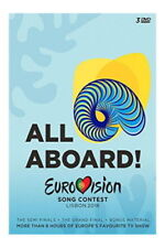 Eurovision Song Contest 2018 DVD Region 1 NTSC