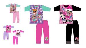 Childrens Girls LOL Pyjama Sets Long Sleeve OFFICIAL MERCHANDISE