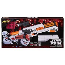 Brand New NERF The Force Awakens STORMTROOPER Dart BLASTER Star Wars FIRST ORDER