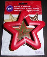 Comfort Grip Star Cookie Sandwich Cutter Wilton #2310-631 Christmas almost gone