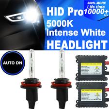 2x DBK HID Headlight Kit H8 H9 H11 low beam XENON 5000K Light Bulbs Conversion