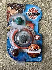 Bakugan Bakucore Series B3 Starter Pack! Rare 2009! 3 Bakugan And 6 Cards!