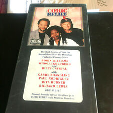 COMIC RELIEF # 1 - LONGBOX CD SEALED MINT 1992 - ROBIN WILLIAMS, WHOOPI, B CRYST