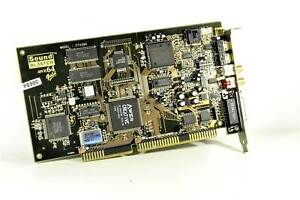 Sound Blaster AWE64 Gold Sound Card - Tested & 100 % Working