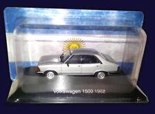 VOLKSWAGEN 1500 (1982) - Unforgettable Cars 1:43 Diecast # 45 SALVAT ARGENTINA