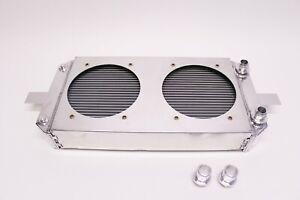 PLM Aluminum Tucked Radiator XL for Honda Acura B20B B20Z B16A B18C1 B18A B18B