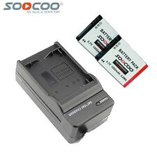 SOOCOO S70 S60 S60B Action Camera 2 Battery 1050mAh And Charger Sports Action