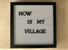 """Letter Board Sign Changeable Message Removable Letters & Numbers 12""""×12"""""""