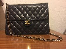 chanel handbag authentic black