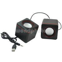 Portable Universal USB Stereo Mini Speaker Super Bass for iPhone PC Computer