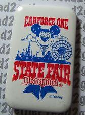 Disneyland Resort Vintage Earforce One State Fair Button