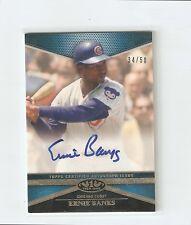 2012 Topps Tier One Ernie Banks auto autograph /50 CUBS