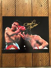 """Manny """"Pacman"""" Pacquiao Autographed 11x14 Photo! Pacquiao Authenticated."""