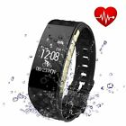 Sports Activity Sleep Tracker Heart Rate Fitness Pedometer Bracelet Smart Watch