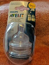 Avent 2-Pack Newborn Flow Anti-Colic Bottle Nipples